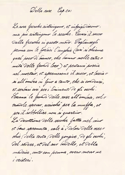 Example Of Quick Handwriting